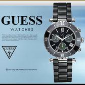 GUESS 時尚魅力休閒腕錶 38mm/GC/男女兼用/防水/BK/陶瓷錶/43001M2 現+排單/免運!