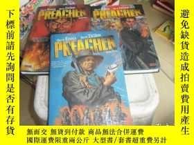 二手書博民逛書店Preacher,Book罕見(One,Two,Three)三本合售Y412783 Garth Ennis、S