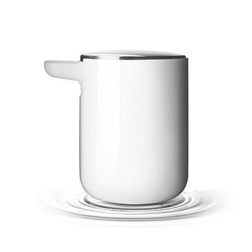 丹麥 Menu Soap Pump, Norm 衛浴系列 給皂器(亮白色)