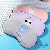 冰絲眼罩睡眠眼罩棉麻遮光透氣女可愛韓國眼學生男士冷熱敷冰袋