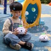 泡泡機 長草顏團子網紅吹泡泡機兒童少女心ins相機電動泡泡棒加特林玩具