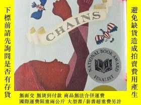 二手書博民逛書店Chains罕見(美國進口 國家圖書獎獲獎小說 英文原版)Y142342 Laurie Halse Athen