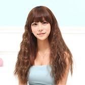 假髮(長髮)-時尚甜美可愛玉米燙女配件3色73fi48[時尚巴黎]