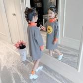 童裝女童秋裝加厚連帽T恤2019新款超洋氣中大兒童女孩打底衫網紅上衣 Cocoa