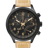 TIMEX 飛返計時指南運動腕錶-卡其
