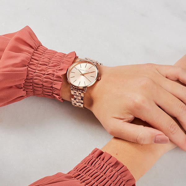 【Michael Kors】/美式經典三眼錶(男錶 女錶 Watch)/MK3897/台灣總代理原廠公司貨兩年保固