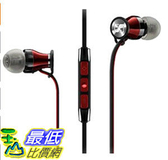 [104美國直購] Sennheiser 506231 耳機 Momentum In-Ear  Black Red (Apple iOS version)