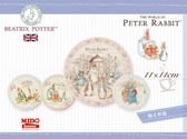 彼得兔家族陶瓷吸水杯墊(4款)-MD0744《Midohouse》
