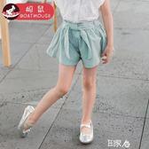 女童短褲薄款外穿時尚寬鬆兒童熱褲 E家人