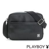 PLAYBOY- 斜背包 FLOW系列-都會黑