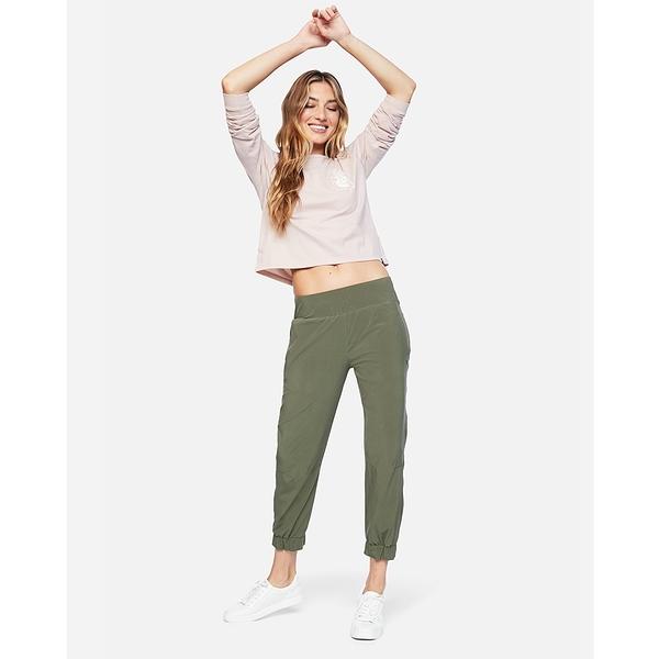 HURLEY|女 ICON AQUAS JOGGER長褲- 綠