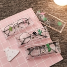 【3個裝】眼便攜鏡盒女眼鏡收納太陽鏡墨鏡盒【古怪舍】