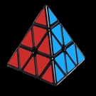 魔方 奇藝金字塔魔方益智玩具三角形異形初學者比賽專用幼兒園三階二四【快速出貨八折鉅惠】