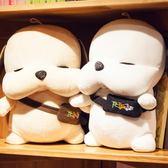 公仔娃娃抱枕可愛布偶狗狗玩具毛絨