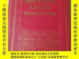 二手書博民逛書店Robin罕見hood and his merrie menY2