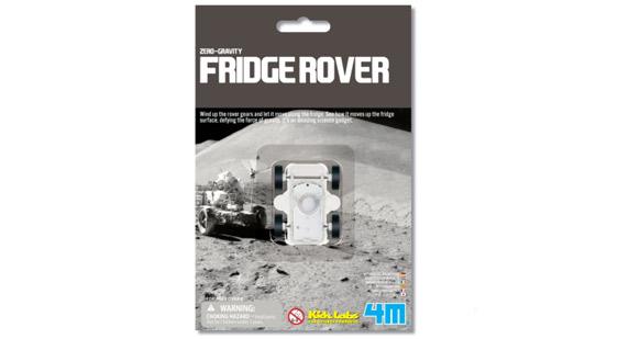 無引力賽車 Zero-Gravity Fridge Rover 挑戰無重力世界