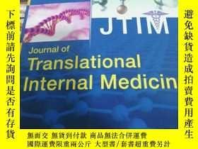 二手書博民逛書店Journal罕見of translational intern