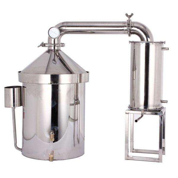 釀酒機 家用釀酒機小型純露機蒸酒器家庭釀酒設備造白酒蒸餾器制酒機新款 igo 城市玩家