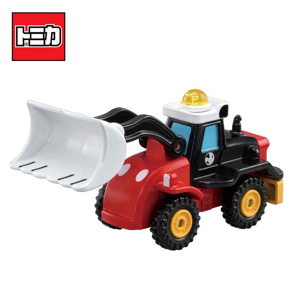 【日本正版】TOMICA DM-14 米奇 挖土機 玩具車 Mickey Disney Motors 多美小汽車 - 174073