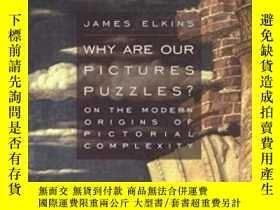 二手書博民逛書店Why罕見Are Our Pictures Puzzles?Y380406 James Elkins Rout