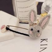 毛氈兔子胸針 女韓國配飾可愛外套別針開衫扣針甜美毛衣胸花領扣