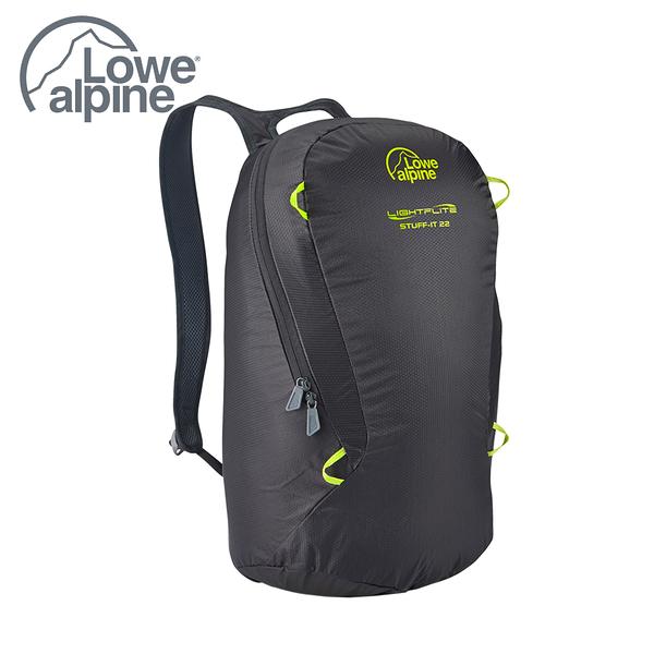 Lowe Alpine Stuff It 22 極輕量背包 煤炭黑 # FAE08