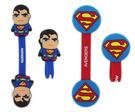 【卡漫城】 超人 捲線器 2入一組 ~ Superman 鈕扣式 隨身耳機 MP3 集線器 DC漫畫 正義聯盟