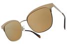 Polaroid 偏光太陽眼鏡 PLD4055S AOZQD (霧金-棕水銀棕) 復古性感小野貓 眉頭款# 金橘眼鏡