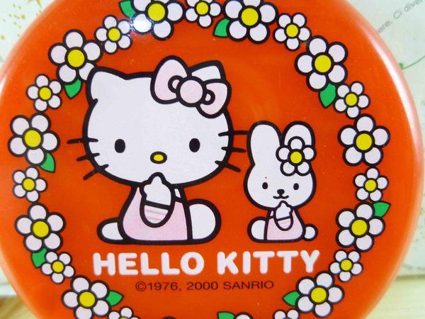 【震撼精品百貨】Hello Kitty 凱蒂貓-KITTY鏡梳組--圓紅
