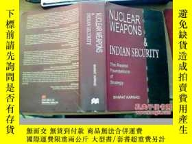二手書博民逛書店NUCLEAR罕見WEAPONS & INDIAN SECURI
