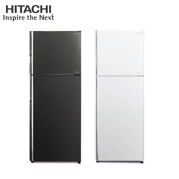 [HITACHI 日立家電]403公升雙門變頻冰箱-琉璃灰/琉璃白 RG409