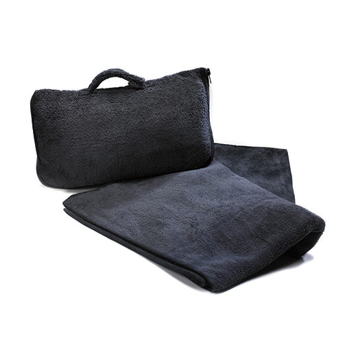 【CABEAU】保暖飛機毯Fold 'n Go Blanket - 黑色