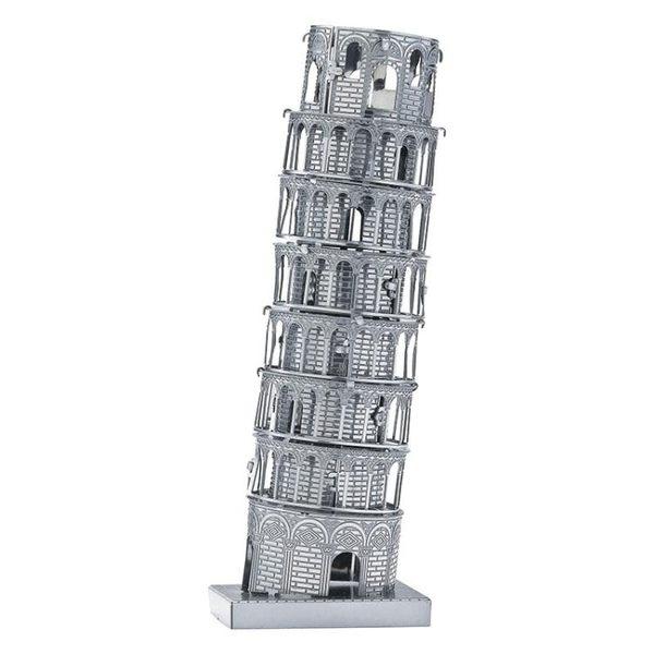 比薩斜塔兒童拼裝玩具3D立體拼圖男孩DIY益智模型生日【全館免運】