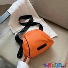 貝殼包 自制包包新款2021夏季潮范貝殼女包進口牛津布媽咪包側背斜背包寶貝計畫 上新