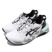 Asics Tiger 休閒鞋 Gel-Lyte XXX 30 摩登東京 白 黑 藍 條碼 女鞋 【ACS】 1022A295100