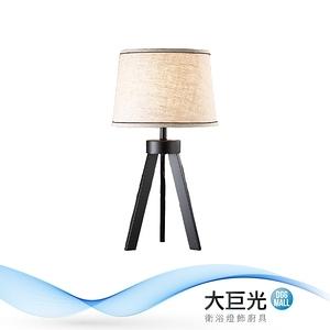 【大巨光】典雅風-E27 單燈立燈-中(ME-4973)