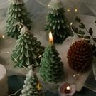 飛魚家居 圣誕系列香薰蠟燭模具 松樹圣誕節裝飾香薰蠟燭DIY材料 流行花園