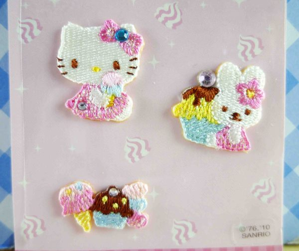 【震撼精品百貨】Hello Kitty 凱蒂貓~KITTY立體貼布貼紙-蛋糕