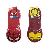 【KP】22-26cm 襪子 MARVEL系列 蜘蛛人 鋼鐵人 隱形襪 後腳跟止滑 成人襪 卡通襪 DTT1000076