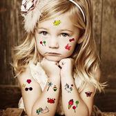 兒童紋身貼防水女持久安全無毒
