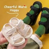 兒童涼鞋男夏男童女童中大童新款男孩軟底防滑小童寶寶沙灘鞋 夏季狂歡