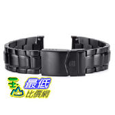 [美國直購 ShopUSA] Luminox 副廠(非原廠LOGO) 相容型金屬錶帶 for  3402 F 117 PVD Black  $4627