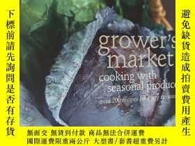 二手書博民逛書店grover s罕見market :cooking with seasonal produce (over 200