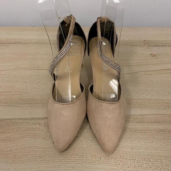 尖頭高跟鞋細跟性感工作鞋(35號/跟高7/121-6423)