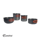 【買一送一】ADISI 雙柄鋁套鍋組 AC565006 / 城市綠洲(導熱佳、附蓋、攜帶式、登山、戶外使用)