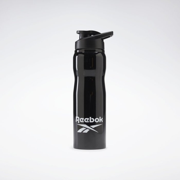 REEBOK TRAINING SUPPLY METAL 800ML 黑色 水壺 水瓶 GK4295
