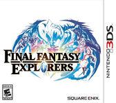 3DS Final Fantasy Explorers,最終幻想:探險者們(美版代購)