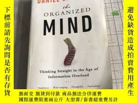 二手書博民逛書店EXP罕見The Organized Mind Thinking