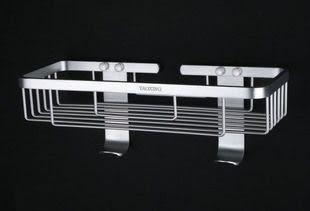 加厚單層太空鋁置物架