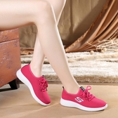運動鞋 老北京布鞋女鞋休閒運動鞋韓版百搭跑步鞋平底輕便透氣防滑女單鞋 寶貝計書